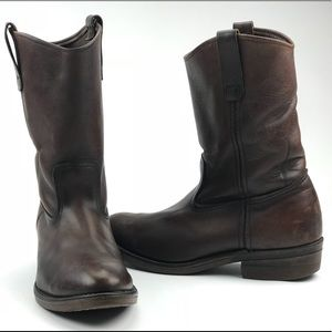 905af123361 VTG RED WING BOOTS Pecos Brown Nailseat 8.5 EE